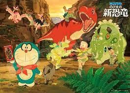 Serial Doraemon Menampilkan Cerita Tentang Fosil Dinosaurus Di Cina